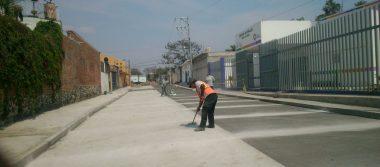 Por culminar pavimentación de calle Ruiz Cortines