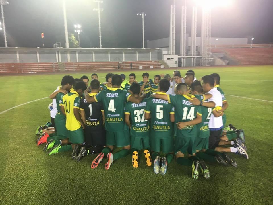 El equipo está en espera del equipo que avanzará a la siguiente ronda.