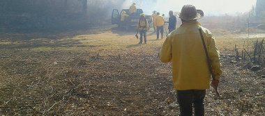 """[VIDEO] Se registra incendio forestal en el paraje """"La Ventana"""" en Amatlán"""