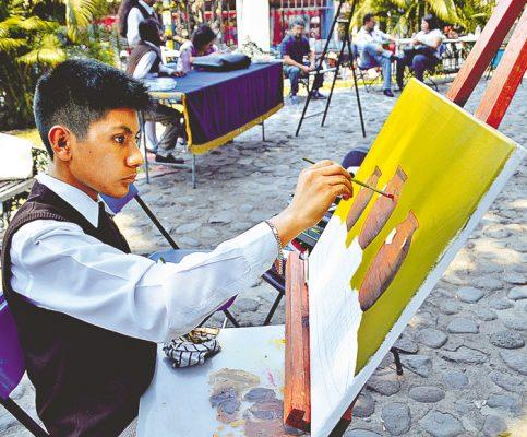 Explotan el arte en alumnos de secundaria