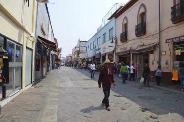 Irán las calles Galeana y Guerrero  con la remodelación del Zócalo