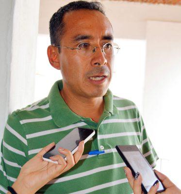 GENARO GONZALEZ Guerrero, director de obras públicas municipal. Foto: GUDE SERVÍN
