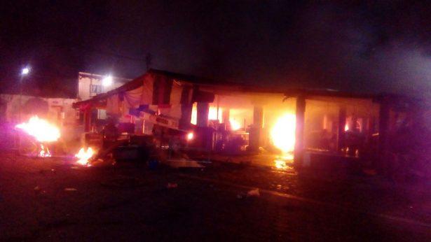 Se registra enfrentamiento en Totolapan por la construcción del mercado