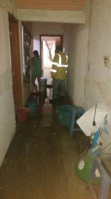 Provocan lluvias afectaciones en Cuautla