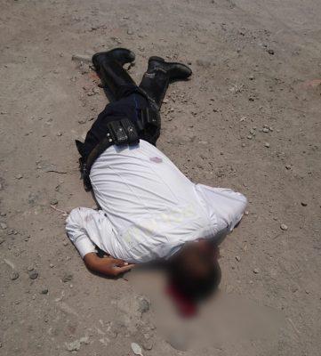 Asesinan a un policía vial en Temixco