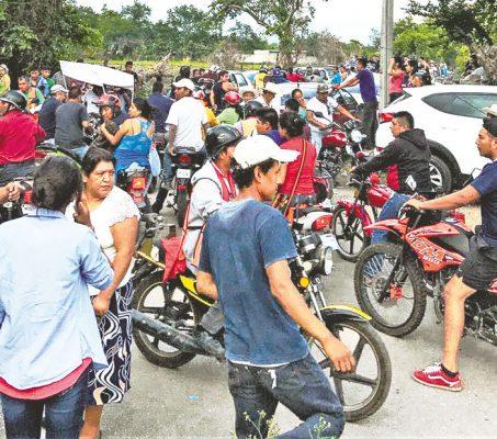 Tensión en Temoac