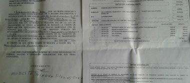 Denuncian venta ilegal  de concesiones en la SMyT