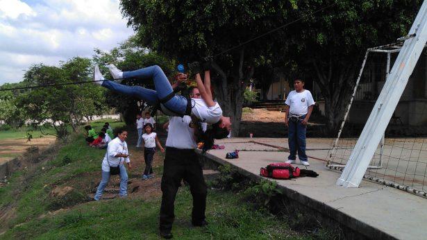 Comparten enseñanza cadetes  de Patrulla Juvenil