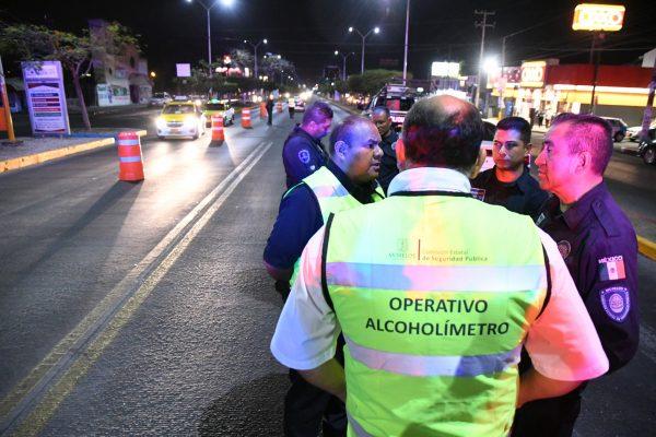 Permanente, operativo alcoholímetro