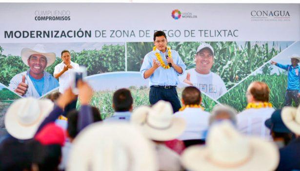 Acaban con la sobreexplotación  y alcanzan 95% de eficiencia en conducción del agua: Valencia