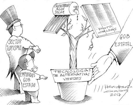 Cartón: Morelos verde