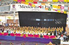 Presentó Colegio Dorados su magno concierto de gala México en la Piel