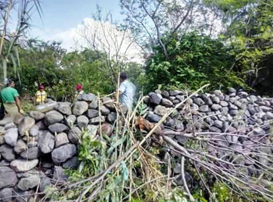 Realizan descacharrización  en comunidades de Jonacatepec