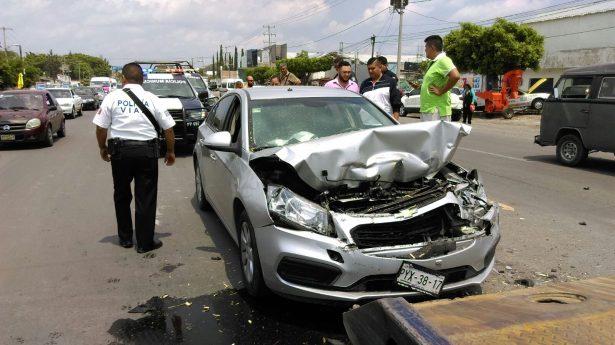 Se registra accidente vehicular sobre la México-Oaxaca