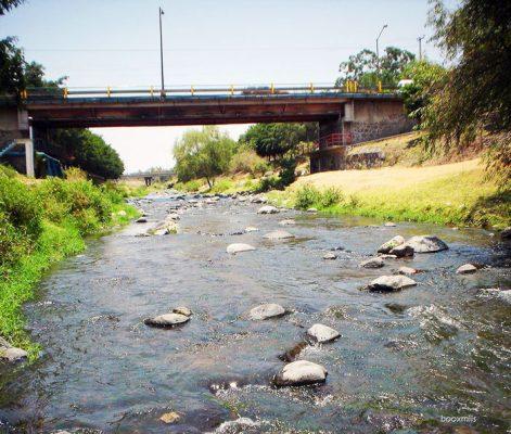 Olvidado el parque ecológico del río Cuautla