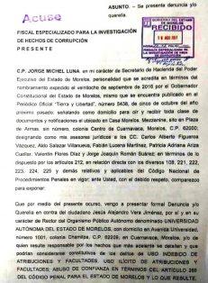 Va Hacienda contra Alejandro Vera