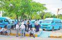 El cierre de transportistas afectó la circulación de centenares de vehículos y de usuarios. Foto:  ÓSCAR GARAGUI