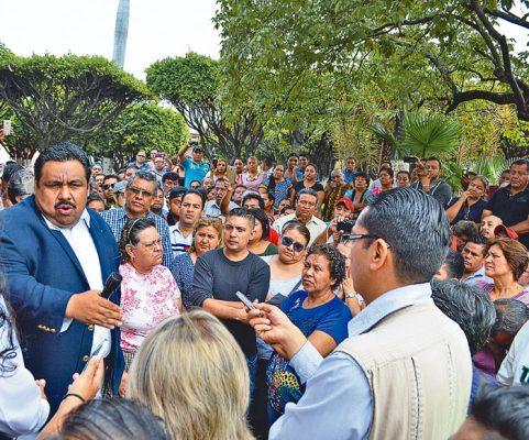 Pierden 1,500 familias sus viviendas: Tadeo