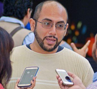 Fidel Alejandro Sánchez Flores, investigador. Foto: Haidee Galicia