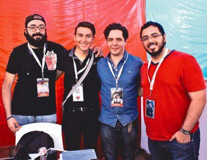 Rafael Restrepo, Mariano Ruiz, Óscar Trejo, José Rosales.