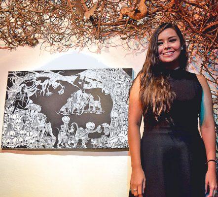 Isabel Mendoza presenta sus obras de los últimos años