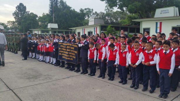 Conmemoran Gesta Heroica de Niños Héroes