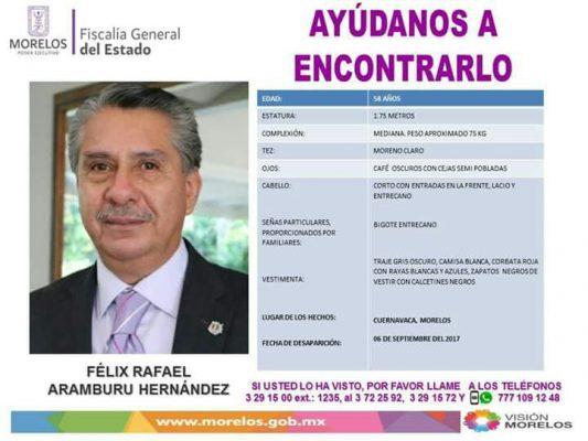 Reportan como desaparecido al presidente del Grupo Empresarial Morelos