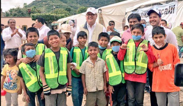 Informan al presidente Peña Nieto avances a una semana del terremoto