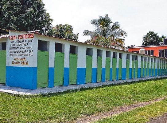 Sin afectaciones tras el sismo, el balneario ejidal Las Tazas