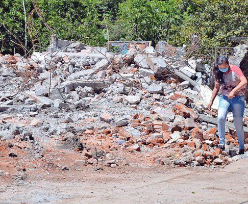 Peligro ambiental por el terremoto