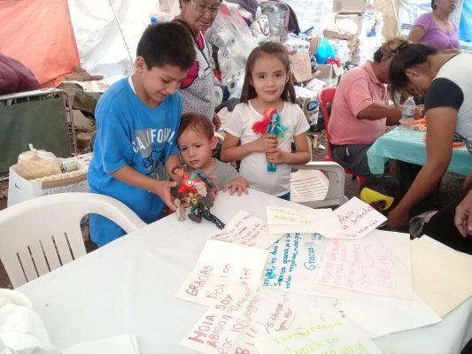 Se solidariza la guardería ABC con Totolapan