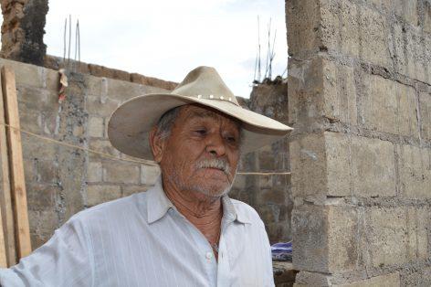 DON JOAQUÍN tiene 74 años, y está orgulloso de sus hijos.  Foto: Gude Servín.