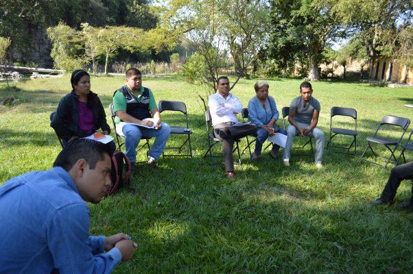 Buscan rescatar el área natural protegida Agua Azul