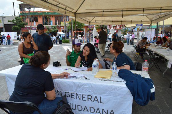 Instalan en Cuautla carpa Unidos por Morelos