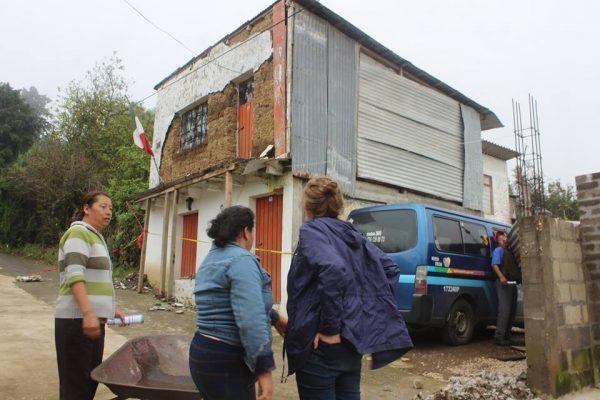 Cierran censo con dos mil 300 casas afectadas en Tetela del Volcán