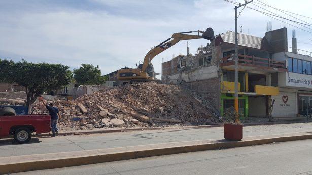 Avanza la demolición