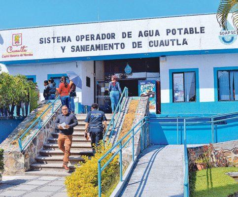 Subirán las tarifas del agua: SOAPSC