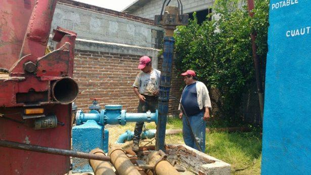 Escasea el agua en la Zapata
