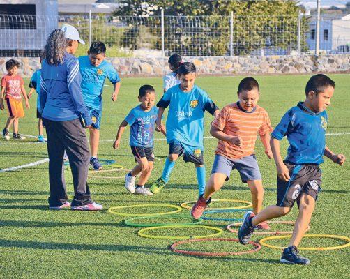 Fomentan el deporte en los más pequeños