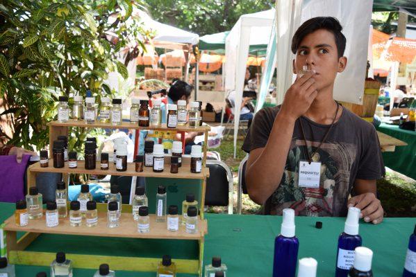 Aromaterapia en el Mercado Verde