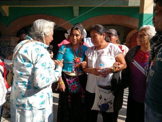 Presenta Marichuy propuesta de gobierno en Amilcingo