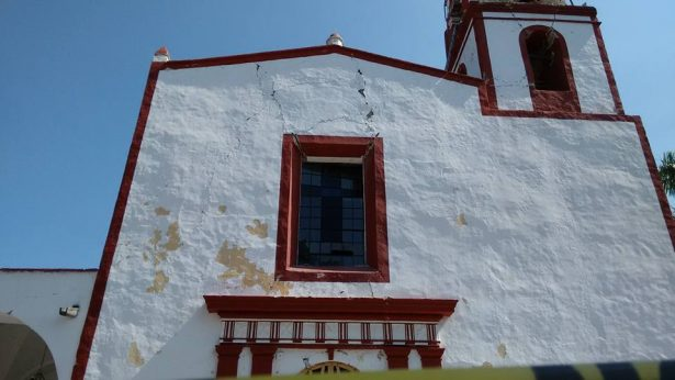 Refuerzan parroquia de La Asunción de María