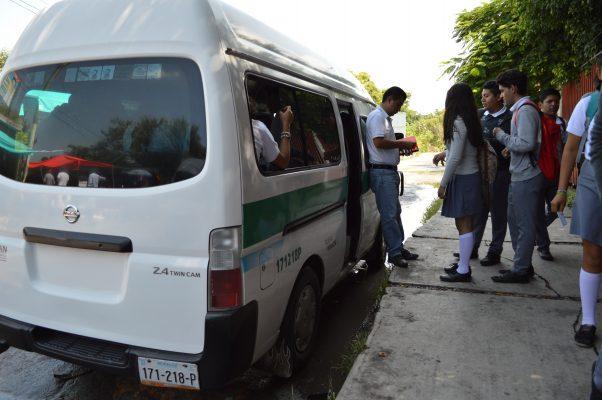 Mejorarán el transporte estudiantil