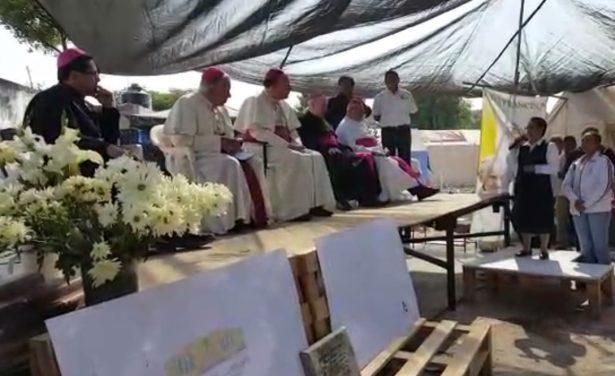 El Nuncio Apostólico en México Franco Coppola en Jojutla