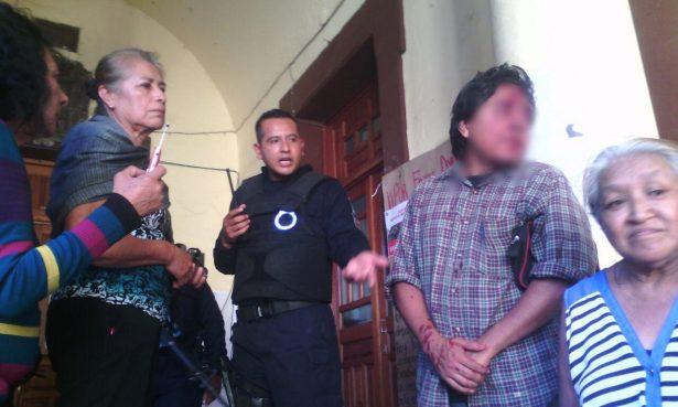 Desalojo violento en Tepoztlán