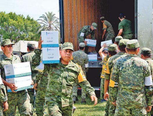 """""""El Ejército es para ayudar, no para reprimir"""""""