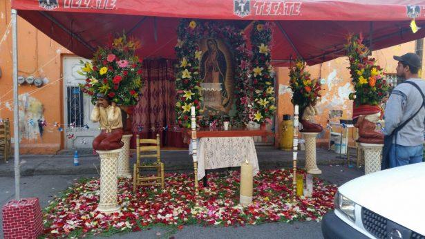 [VIDEO] Celebran a la Virgen de Guadalupe en la Zapata