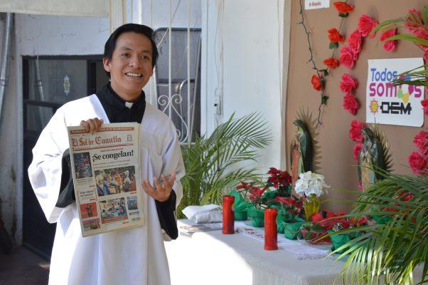 Realiza El Sol de Cuautla misa a la virgen del Tepeyac