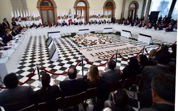 Propone Conago reforma al Fonden
