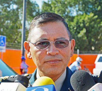 Armando Gómez, comandante de la XXIV Zona Militar.